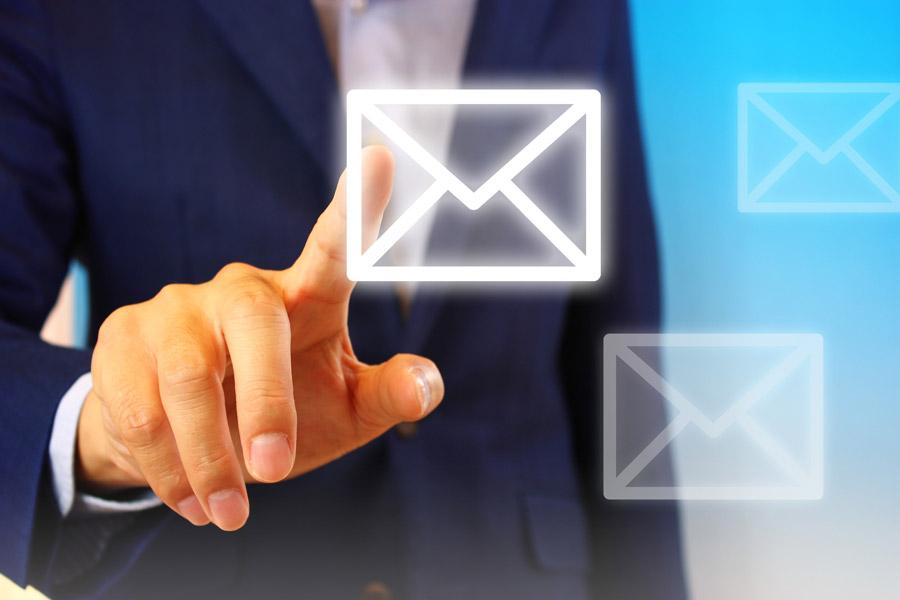 10通送信して1件受注できるメール配信を行う